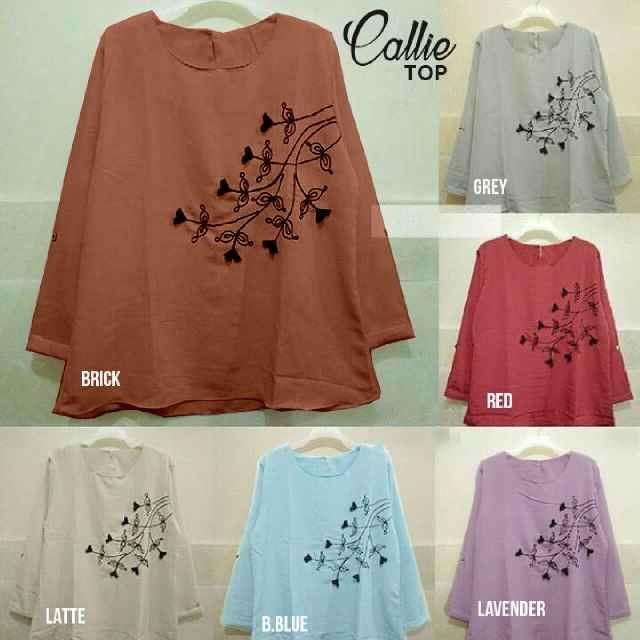 Baju Atasan Wanita Callie Top Online dan Murah - http://www.butikjingga.com/baju-atasan-wanita-callie-top