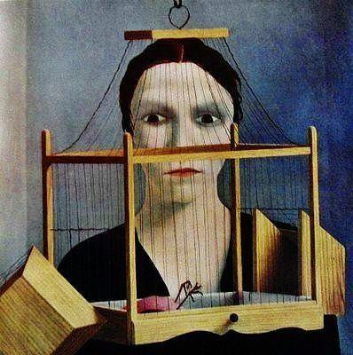 Art - Magic Realism - Pyke Koch - The dead bird I