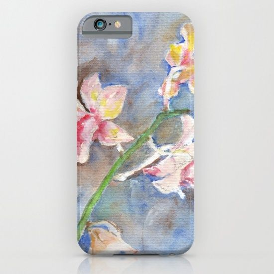 Tropical Orchid iPhone & iPod Case