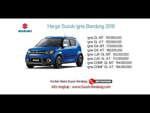 Harga Suzuki Ignis 2018 Bandung Dan Jawa Barat Hub
