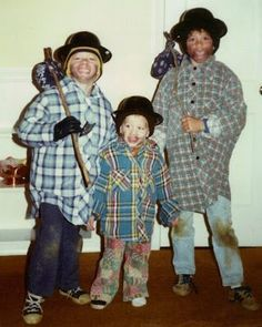 You never see a good old hobo costume anymore...