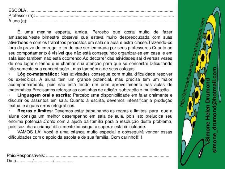 Preposition In Learn In Marathi All Complate: Modelos De Relatórios De Alunos Simone Helen Drumond