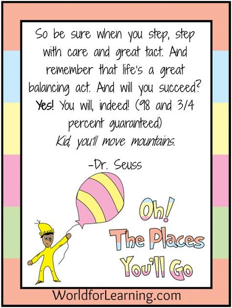 Oh, the Places You'll Go! {FREE Printable - When I Grow Up ...