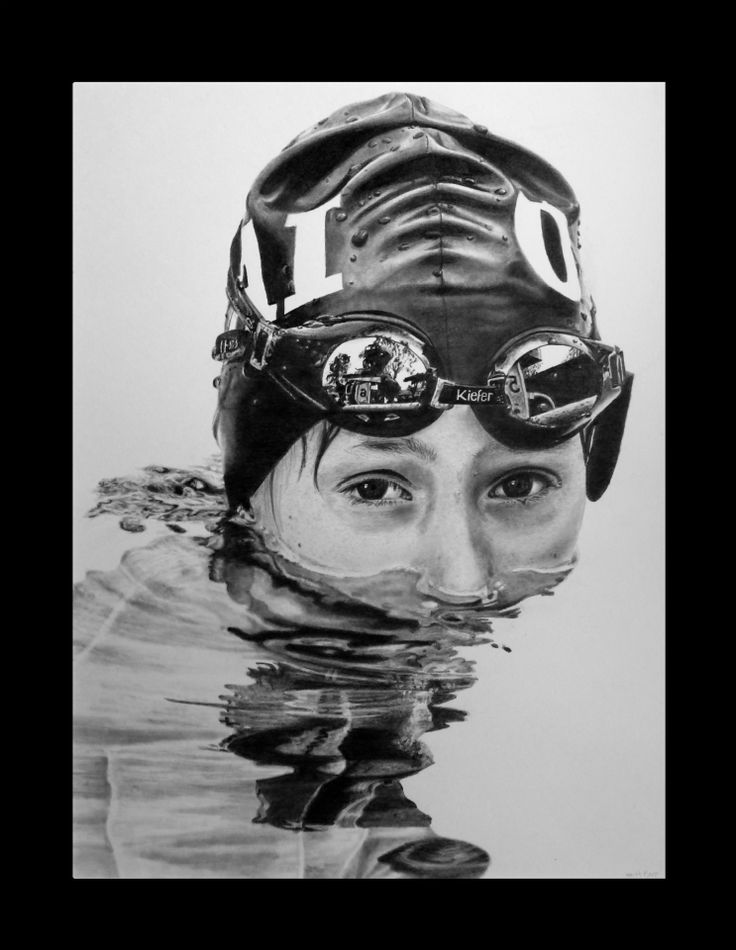 Hubabubbledub! Keith More hyperrealistic pencil drawing A3 size.