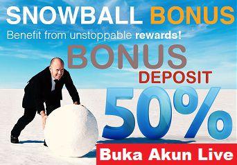 50% Bonus Seposit  FixRebate $12/Lot