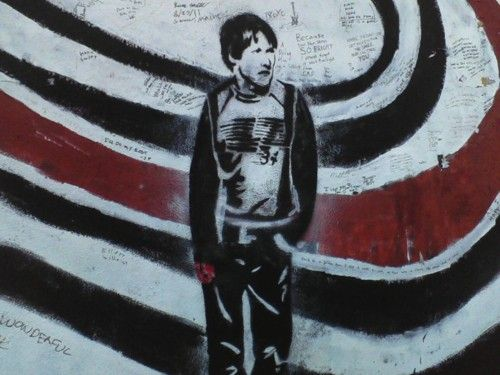 1000 images about elliott smith memorial wall on for Elliott smith mural