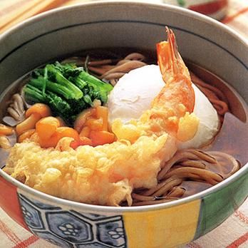 ボリューム天ぷらそば   石垣孝子さんのそばの料理レシピ   プロの簡単料理レシピはレタスクラブニュース