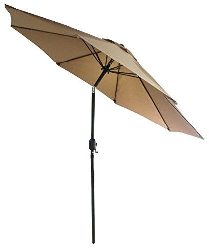 """#SNAIL 9' #Aluminum #Offset #Patio #Umbrella, #UV #Protection, Water-resistant #Hanging #Garden #Cantilever #Umbrella with #Cross #Base, #Chocolate Thick, 100% polyester fade and weather resistant #umbrella that is built to last, provides #UV #protection that can block up to 90% of harmful #UV rays. Built with a powder rust resistant coating, the sturdy, high-grade 2"""" #aluminum frame holds up against the elements such as rust, corrosion, chipping and peeling. 10' diameter #um"""