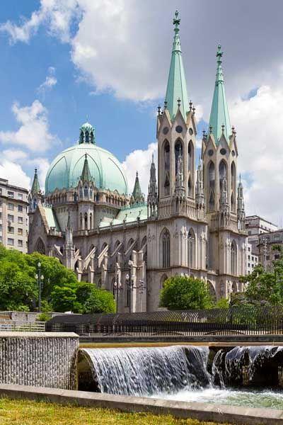 Catedral da Sé  São Paulo-Brasil