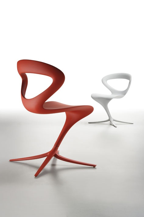 Callita Chair is a chair created by designer Andreas Ostwald for Infiniti. With its unusual and amazing design, Callita is the right place to make your imagination fly.   A dynamic and original idea creating a very comfortable shape, with a great personality. Callita features smooth flowing lines, which create a seat that seems to float in space and become an essential part of it.   Designed to offer an particularly comfortable seat, Callita is a real tribute to the most imaginative and…