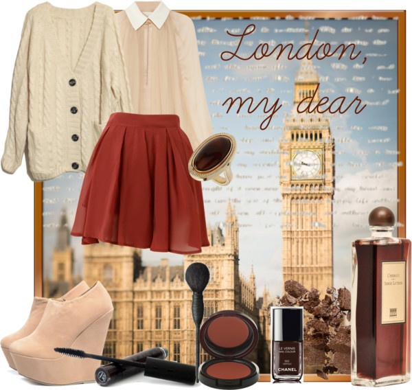 """London, my dear"" by allieclothes on Polyvore: Features Crochet, Alliecloth, London, Polyvore, Dear"