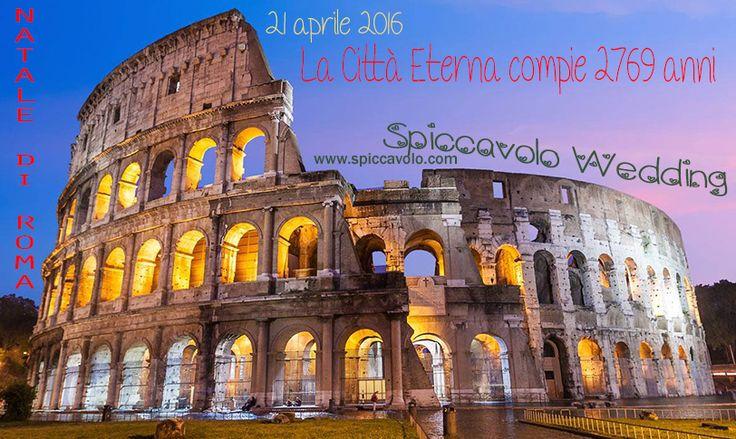 NATALE DI ROMA... auguri Città Magica!! www.spiccavolo.com