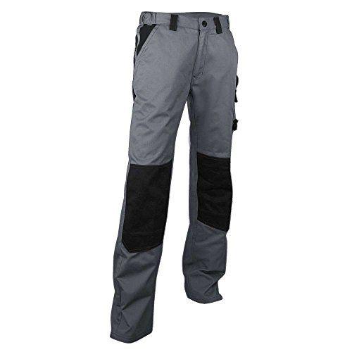 Pantalon de Travail Bicolore Gris/Noir  http://123promos.fr/boutique/vetements/pantalon-de-travail-bicolore-grisnoir/