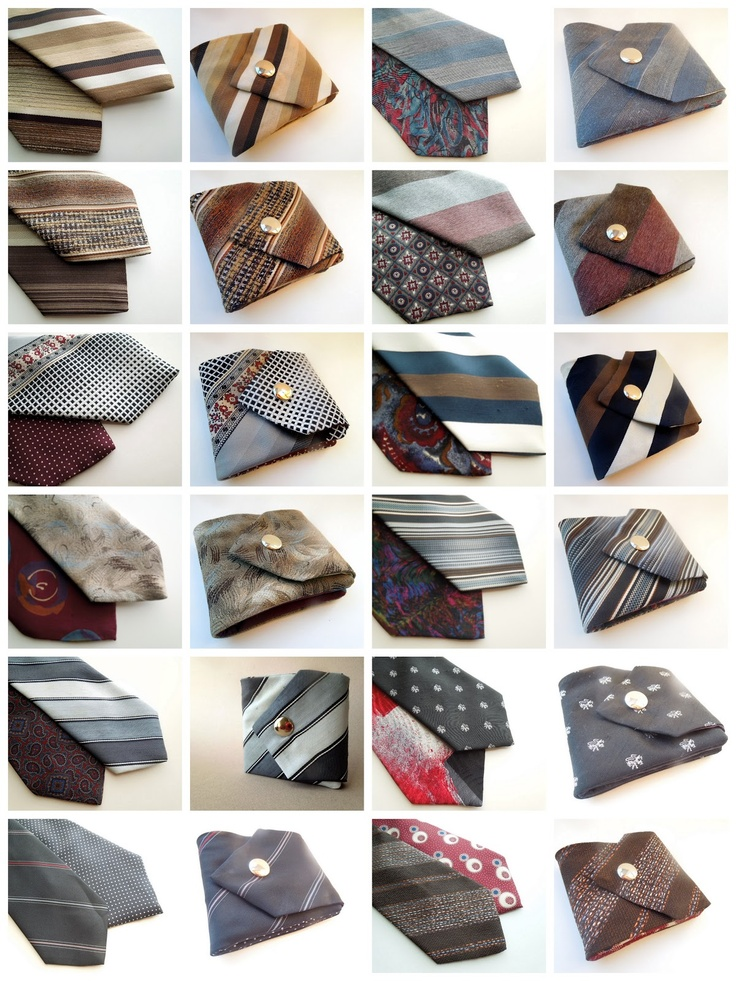Inspiration: recycle old ties