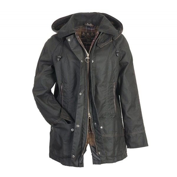 Barbour Beaufront Jacket ❤ liked on Polyvore featuring outerwear, jackets, coats, tops, hooded wool jacket, barbour, hooded jacket, barbour jacket and wool jacket