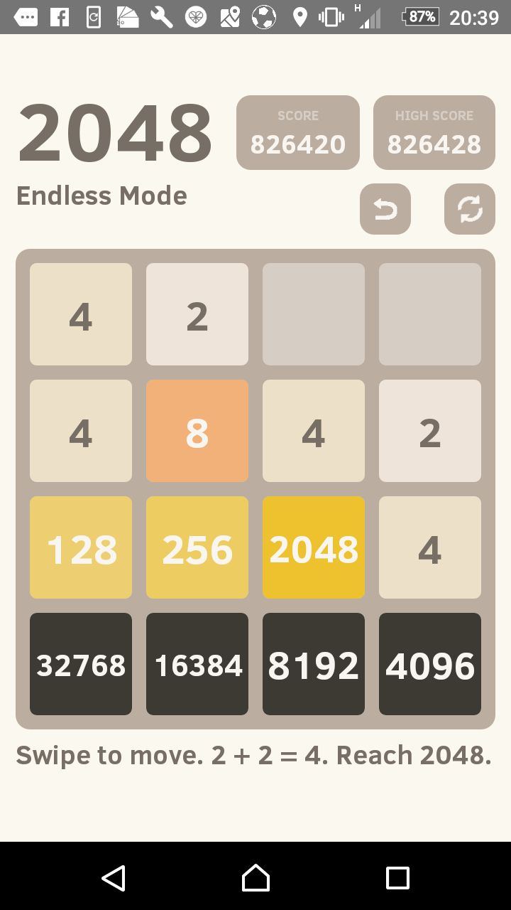 Any sequence of moves to unfuck this 2048? http://ift.tt/2hvV03E