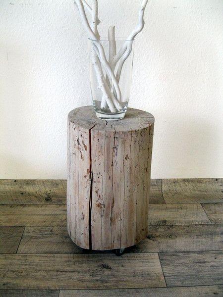 Die besten 17 ideen zu baumstamm hocker auf pinterest for Holzklotz beistelltisch