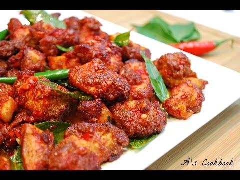 Easy Chilli Chicken Recipe (Indo-Chinese) - YouTube