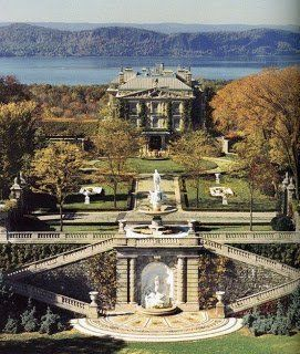 Kykuit ~ Rockefeller family home in Hudson Valley