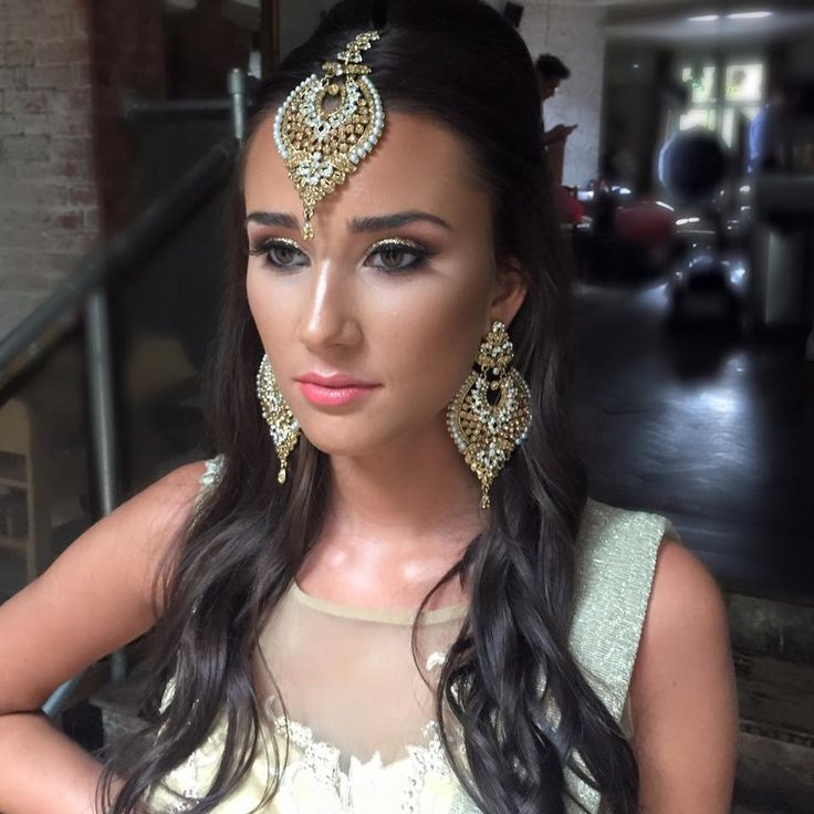 This mesmerising Asian Bridal Make Up is done by Kerry White Make Up Artist.   #UK #Hair #Beauty #Asian #Bride #MakeUp #BeAwesome