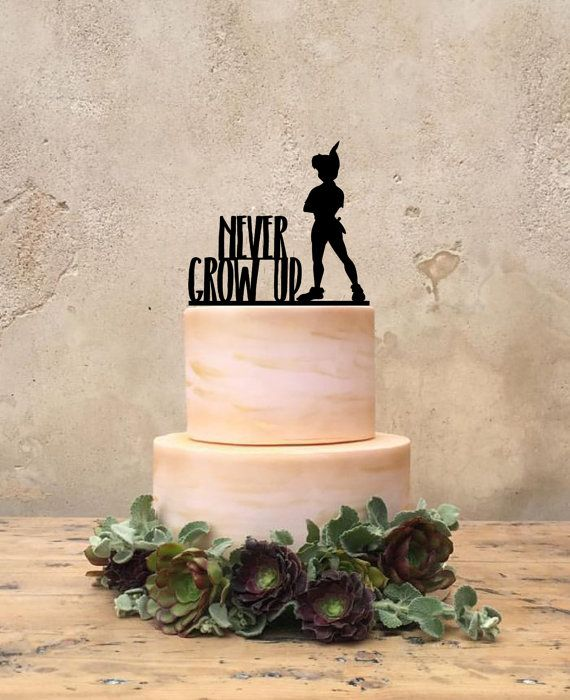 Peter Pan Birthday Cake Topper Custom Peter by CakeToppersJust4You