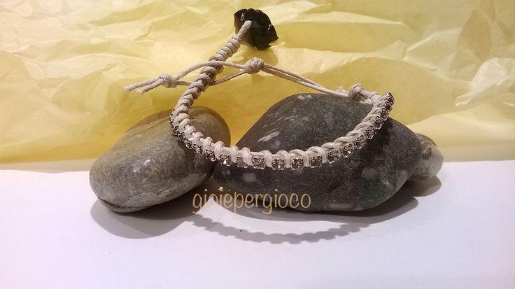 bracciale con cordino cerato by Gioiepergioco