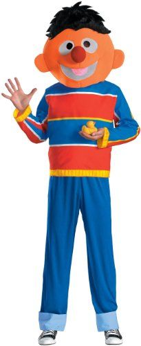 Disguise Men's Sesame Street Ernie Costume  http://www.beststreetstyle.com/disguise-mens-sesame-street-ernie-costume/