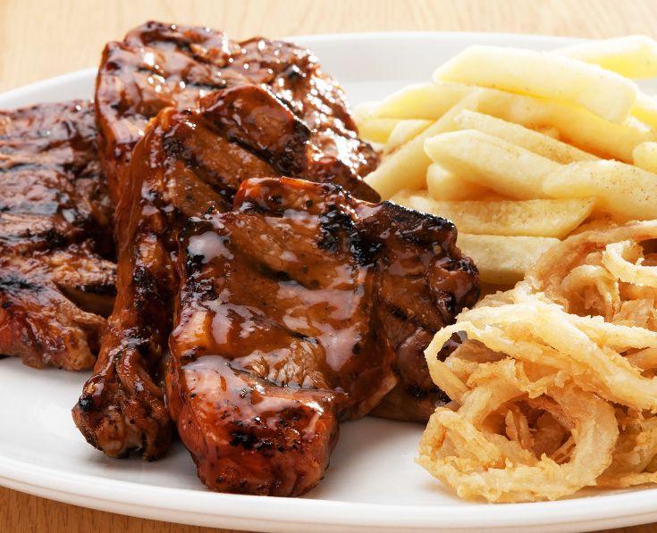 Lamb Chops: A feast of juicy and tender lamb chops (400g). Read More: https://www.spur.co.za/menu/ribs-and-grills/