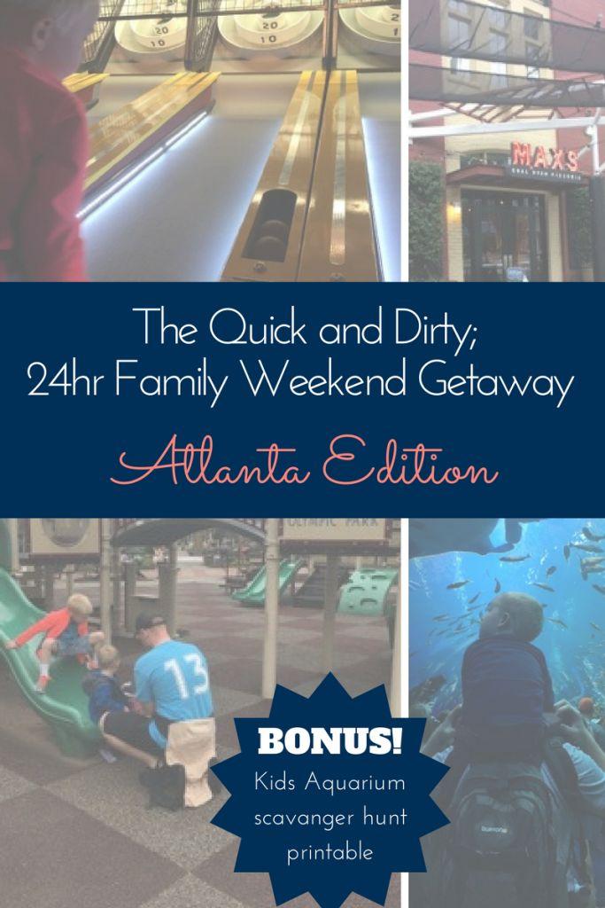 Family Weekend Getaway - 24hrs in Atlanta Georgia