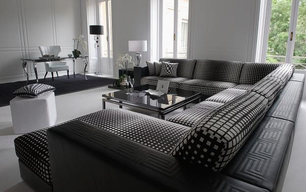 Versace home i like the couch dream home interior pinterest home couch and versace home - Versace living room design ...