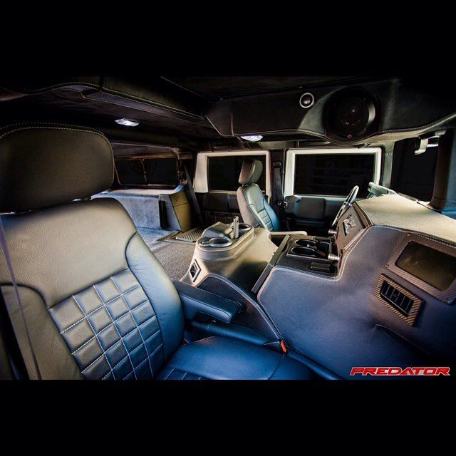 got to love the smell of fresh leather hummer h1 hummerh1 interior leather custom. Black Bedroom Furniture Sets. Home Design Ideas