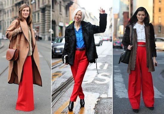 красные брюки с чем носить зимой - Поиск в Google
