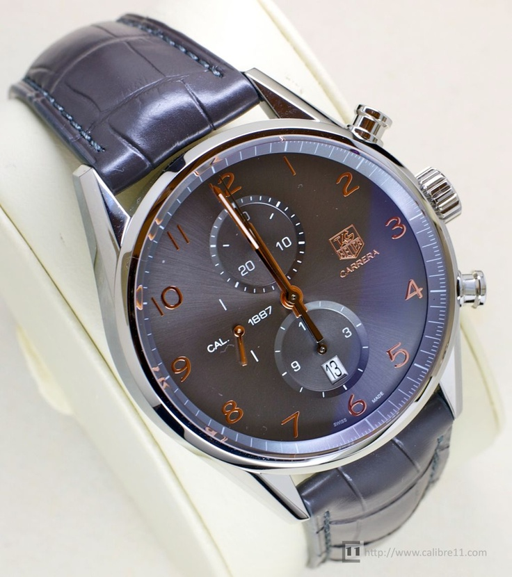 TAG Heuer Carrera 1887 43mm @Richter & Phillips Jewelers www.richterphillips.com