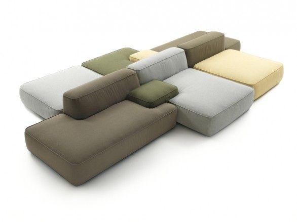 Il divano Cloud di Francesco Rota per Lema