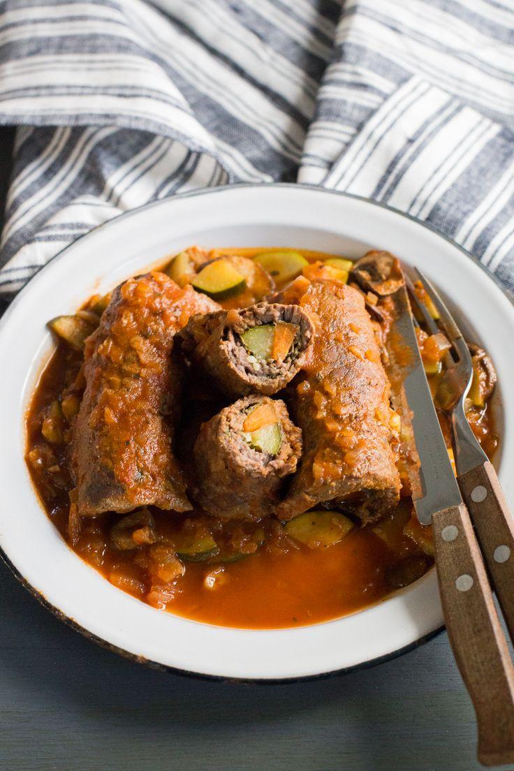 "And easy Chilean recipe for Steak Rolls or ""Niños Envueltos""."