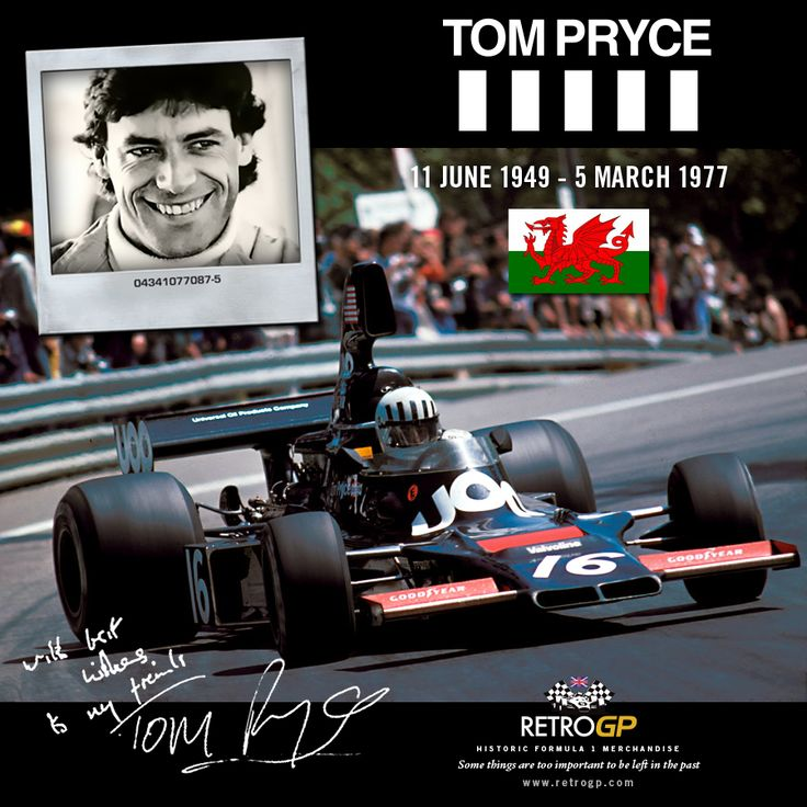 On this Day 1977 - the tragic South African Grand Prix, where we lost the emerging talent of Tom Pryce and 19 year old marshal Frederik Jansen van Vuuren.