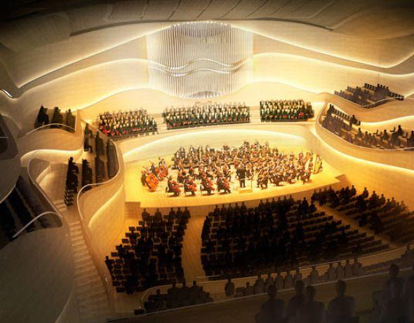 Sala Nacional de Conciertos de Dublín / 3XN