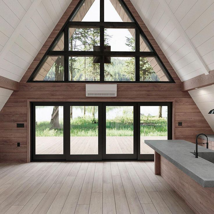 AYFRAYM – A-Frame House or Cabin Plans & Kits | Ev…