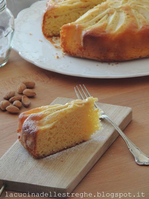 La cucina delle streghe: Torta di mele, yogurt e mandorle