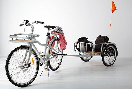 Vélo SLADDA Ikea Family 499€ + remorque 169€ et porte-bagages (50€ un avant et un arrière)