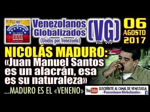 """News Videos & more -  Nicolás Maduro: """"Juan Manuel Santos es un ALACRÁN, esa es su naturaleza"""" – (VG) #Music #Videos #News Check more at https://rockstarseo.ca/nicolas-maduro-juan-manuel-santos-es-un-alacran-esa-es-su-naturaleza-vg/"""
