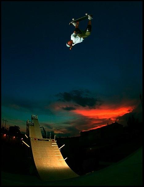 I Skate, Therefore I Am: Adil Dyani; 72 feet #aciddrop on a vert ramp #skateboarding #sick