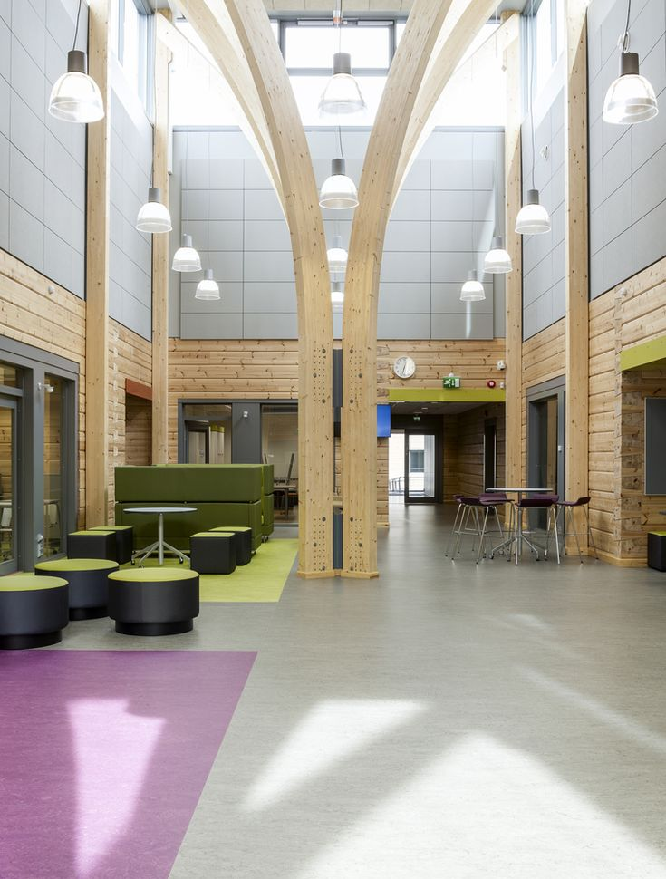 Gallery of The Purity of Expressive Timber Structure Celebrated in Finland's Pudasjärvi Campus - 14