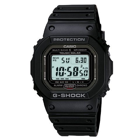 G shock radio GW-5000-1JF MULTIBAND6 TOUGH SOLAR mens watch Casio watches world time 6600