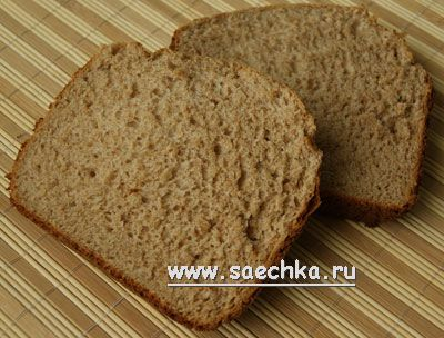 Диетический хлеб - рецепт с фото