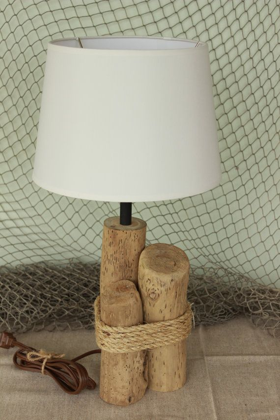 Nautical Driftwood Lamp / Table Lamp / Natural Lamp