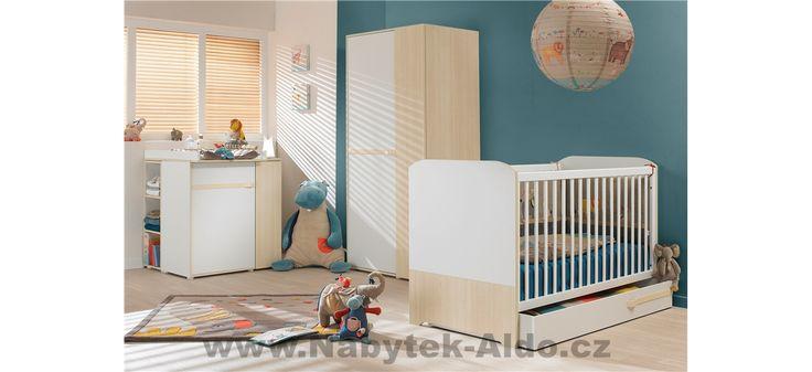 Dětský pokoj pro miminko i předškoláka Clapotis P0N
