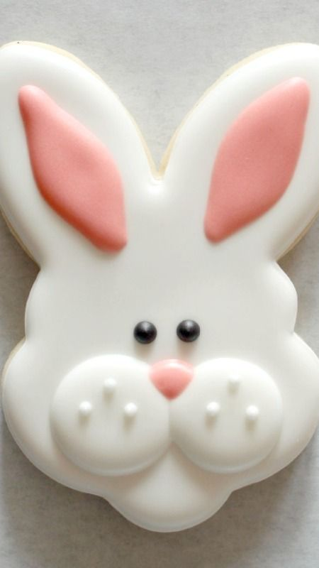 How To Make Bunny Face Cookies