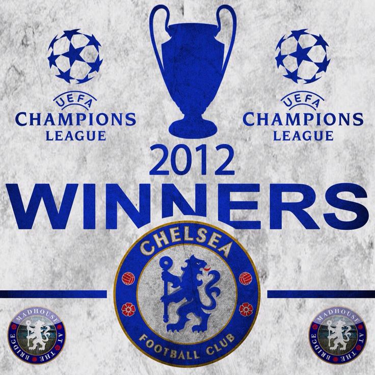 Chelsea FC - 2012 UEFA Champions League Winners