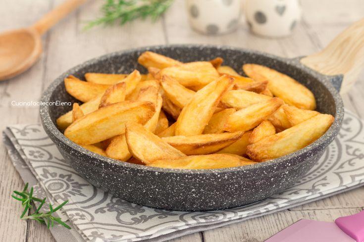 Patate+fritte+perfette+croccanti+fuori+e+morbide+dentro